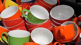 Sieger im Geschmackstest waren orangefarbene Behälter.