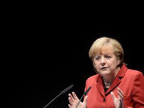 Kanzlerin Merkel will Kanzlerin bleiben - darum geht es.