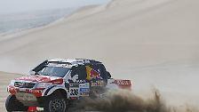 Der Pole nimmt zum zweiten Mal an der Rallye Dakar in Südamerika teil.