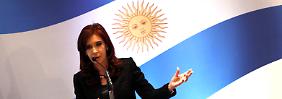 Argentinien hat Angst vor Pfändung: Präsidentin lässt Jet zu Hause