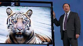 Geht nicht gibt's nicht: Neue Fernseher sind noch schärfer