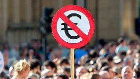 Die Proteste in Spanien verliefen zumeist friedlich.