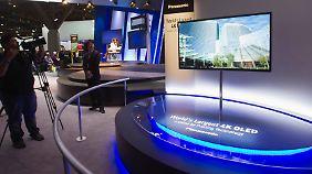 Gestochen scharf: Fernseher strahlen um die Wette