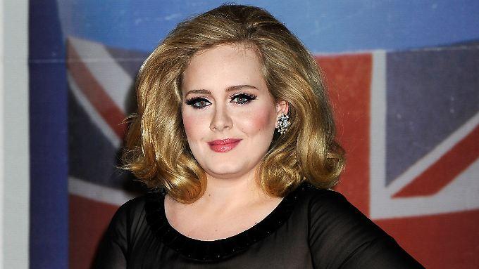 Adele bei den Brit Awards im Februar 2012.