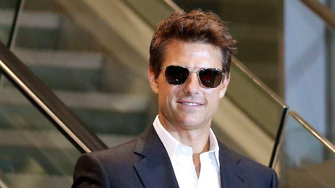 """Tom Cruise stellt in Südkorea seinen aktuellen Film """"Jack Reacher"""" vor."""