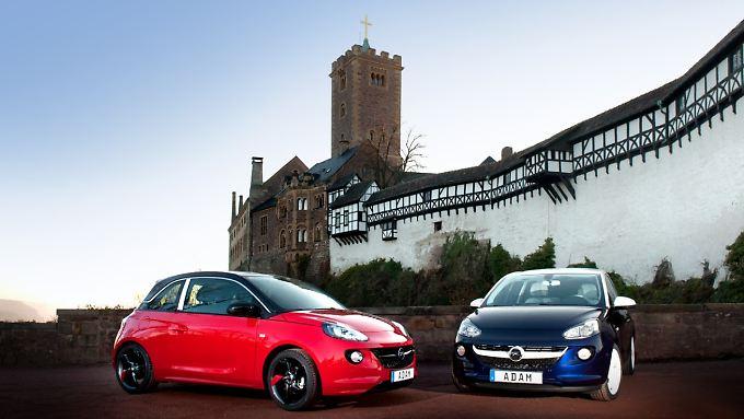 Neben dem Corsa wird nun auch der Opel Adam in Eisenach produziert.