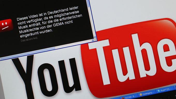 Schier endloser Zwist: Gema und YouTube.