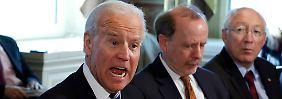 Gespräch mit Biden im Weißen Haus: Waffenlobby ist empört