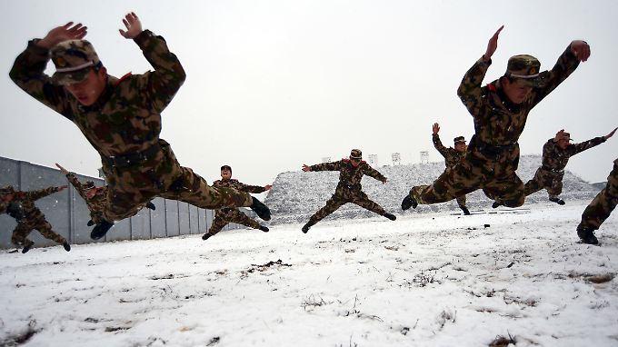Die Preise in China steigen wegen des Winters. Experten sehen aber noch keine Inflationsgefahren.