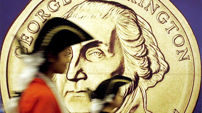 Was wohl der alte George Washington zu der Münzidee gesagt hätte?