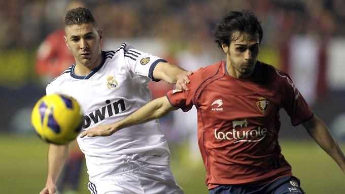 Real-Stürmer Karim Benzema konnte die Sperre von Superstar Cristiano Ronaldo nicht ausgleichen.