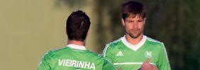 Spielmacher Diego verdient in Wolfsburg 8,2 Millionen Euro pro Jahr - ohne Prämien.