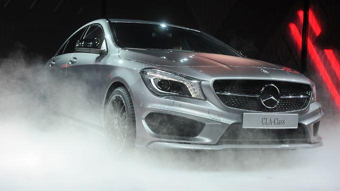 CLA: kompakter Ableger des viertürigen Mercedes-Coupés CLS