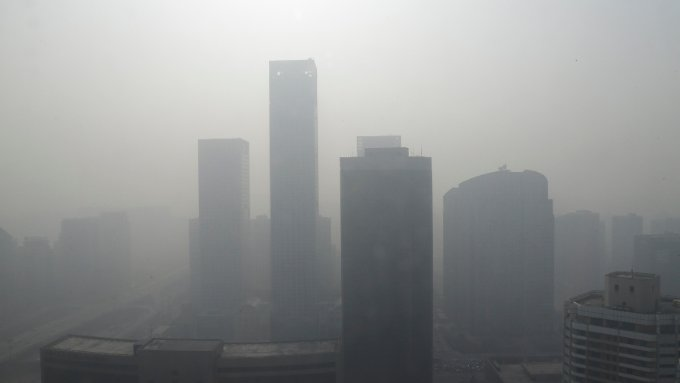 Alarmstufe Orange ausgerufen: Über Peking hängt gefährlicher Smog