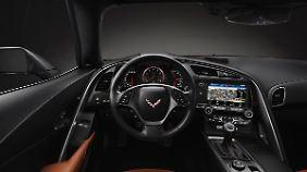 Der Innenraum der C7 ist wesentlich hochwertiger als bei seinen Vorgängern.