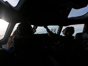 Unterwegs nach Afrika: Die Briten schicken einen ihrer vierstrahligen Großraumtransporter vom Typ Boeing C-17 mit militärischer Ausrüstung nach Mali.