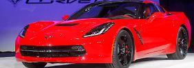 US-Marken punkten in Detroit: Corvette fährt alle an die Wand