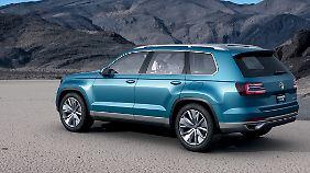 Optisch soll der CrossBlue an US-amerikanische SUV angelehnt sein.