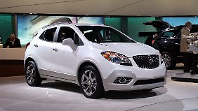 Der Buick Encore sieht dem Opel Mokka verdächtig ähnlich.
