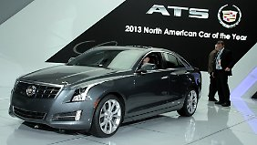 "Der Cadillac ATS ist ""Car of the Year"""