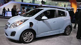 Der Chevrolet Spark EV ist das Auto für die Steckdose.
