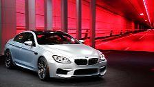 Groß auffahren will in Detroit auch BMW. Neben dem 560 PS starken M6 Gran Coupé ...