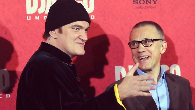 Friends made in Hollywood: Der Quentin und der Christoph.