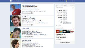 Konkurrenz für Google: Facebook bietet neue Suchfunktion