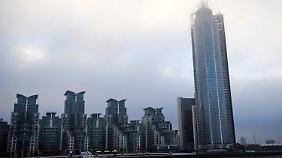 In dem Gebäude entstehen sündhaft teure Penthouse-Wohnungen.