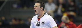 Dritter Sieg im vierten Spiel: Handballer im WM-Achtelfinale