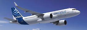 Der A320 ist der Grundlage für den Airbus-Erfolg.
