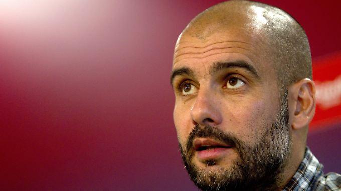 Josep Guardiola, Fußballheiliger und bald Bayern-Chefcoach.