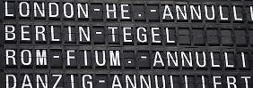 Schneechaos auf Straßen und Flughäfen: Frankfurt streicht 400 Flüge