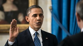 Inauguration des US-Präsidenten: Obama legt zweiten Amtseid ab