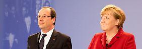 Fragen auf Augenhöhe: Jugendliche treffen Merkel und Hollande