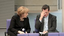 Einstiger CSU-Star im Wahlkampf: Merkel freut sich über Guttenberg-Rückkehr