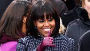 Ein Pony im Weißen Haus: Michelle Obama hat die Haare schön