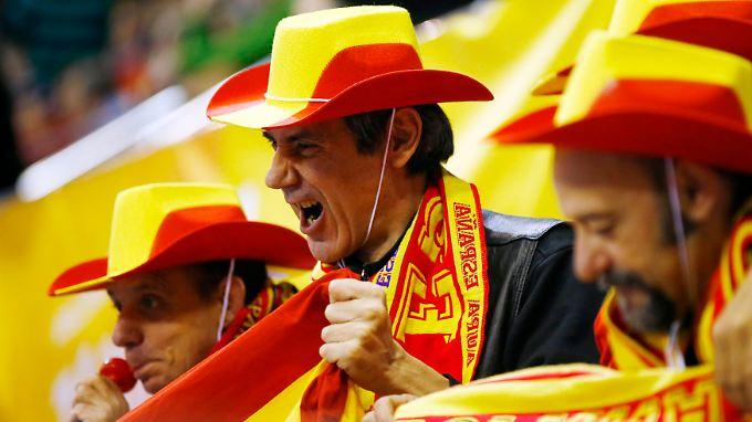 Das wird ein Fest: Im Viertelfinale der Weltmeisterschaft treten die Spanier am Mittwoch gegen die deutsche Mannschaft an.