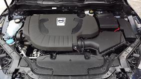 Das Herz des Testwagens ist ein Reihenfünfzylinder mit 177 PS.