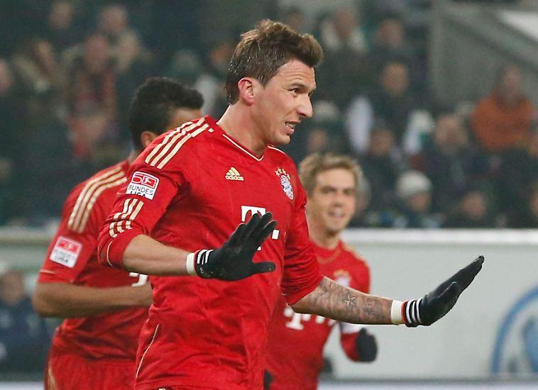 Karl-Heinz Rummenigge schwärmte am 22. Spieltag von Mario Mandzukic - weil der ihn, fand der Bayern-Boss, so wunderbar kopiert hatte.