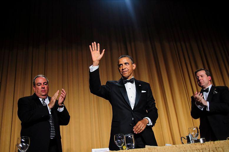 """Traditionell ist der US-Präsident der Stargast beim alljährlichen """"White House Correspondents' Dinner""""."""