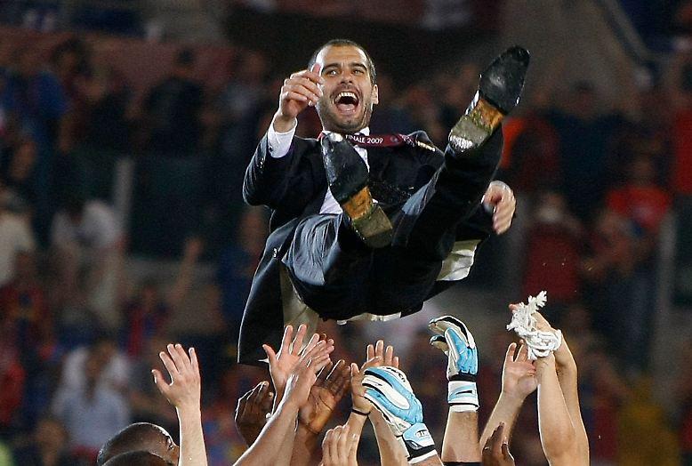 Pep Guardiola gilt als der erfolgreichste Trainer der letzten Jahre. Sagenhafte 14 Titel, darunter zweimal die Champions League, gewann er während seiner vierjährigen Amtszeit.
