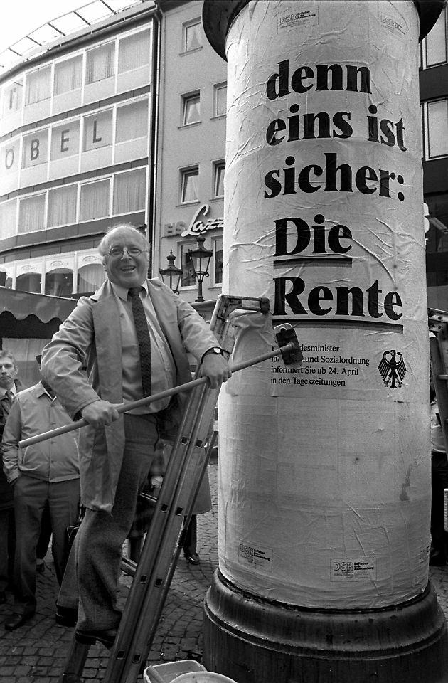 Norbert Blüm Die Rente Ist Sicher