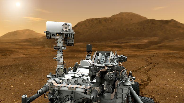 """""""Curiosity"""", der Rover, der über den Mars rollt, ist ein prominentes Beispiel: Ohne Roboter wäre die Erkundung des Universums unmöglich."""