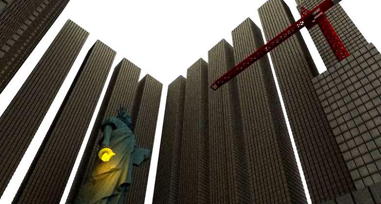 Die US-Amerikaner leben seit Jahrzehnten über ihre Verhältnisse. Mittlerweile türmen sich Schulden von mehr als 17 Billionen - in Ziffern 17.000.000.000.000 - Dollar auf. (Bild: Screenshot von demonocracy.info auf Youtube)
