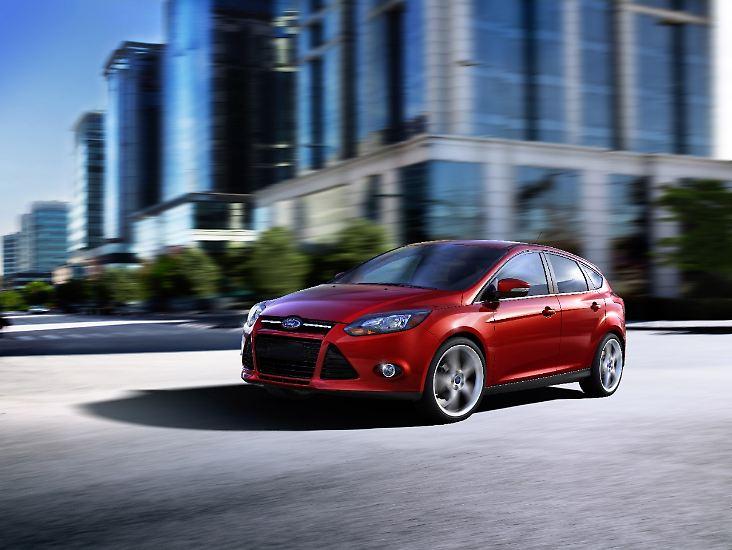 """Der Ford Focus war 2013 wie im Vorjahr das meistverkaufte Auto der Welt. Insgesamt wurden 1,1 Millionen Einheiten des Kompaktmodells verkauft, wie das """"Forbes Magazine"""" errechnet hat."""