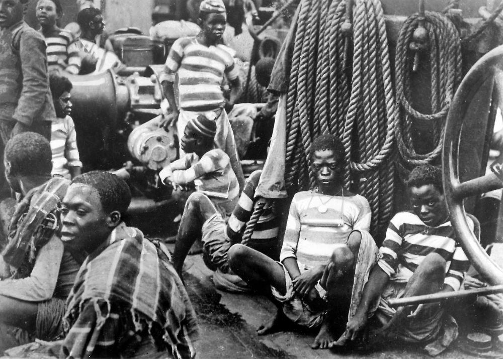 Sklaven wollen gequält werden