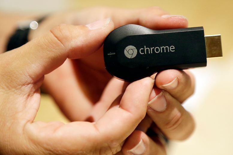 Seit Kurzem ist auch in Deutschland Googles Streaming-Stick Chromecast für 35 Euro erhältlich.