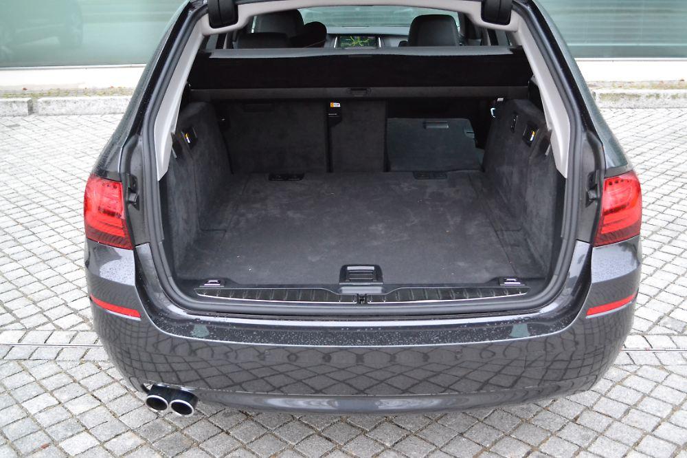 test bmw 518d touring auch mit kleinem motor gut unterwegs n. Black Bedroom Furniture Sets. Home Design Ideas