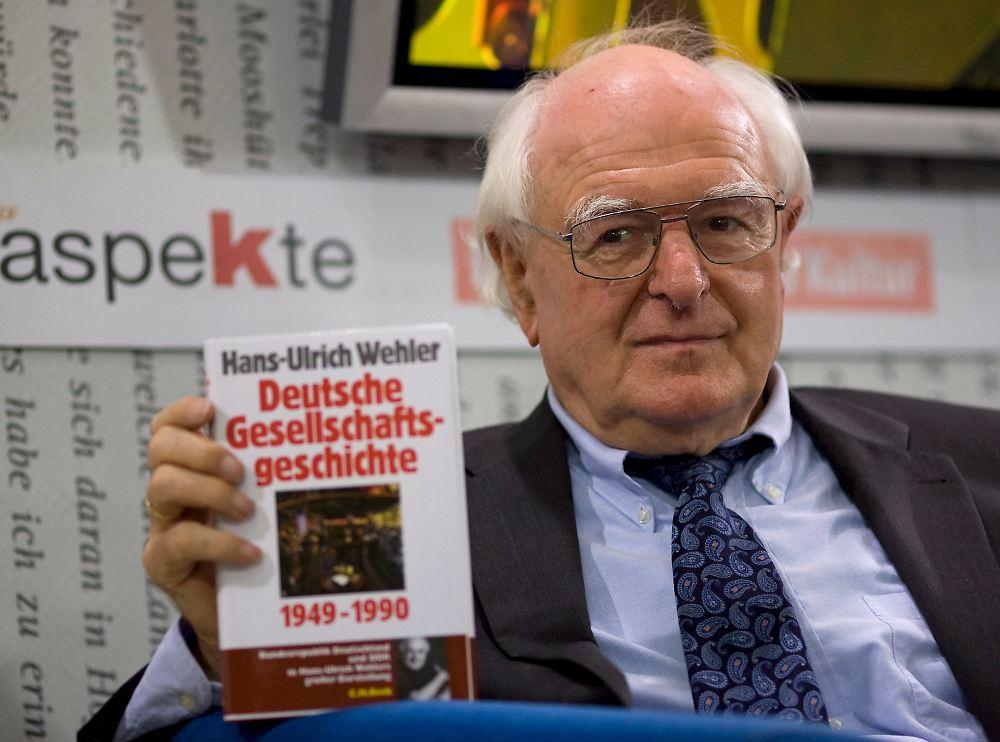 """Deutsche Gesellschaftsgeschichte"""": Historiker Hans-Ulrich Wehler ..."""